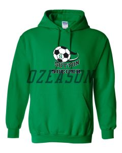High Quality Sportswear Customized Polyester Soccer Warm up Hoodies pictures & photos