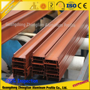 Customized China Supplier Wood Grain Aluminium Extrusion Fence pictures & photos