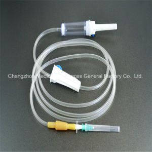 Cmif-03 Medical Disposable Infusion Set with CE, ISO13485, GMP, SGS, TUV pictures & photos