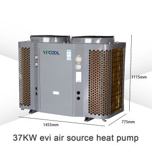 Heat Pump Evi for House Heating and Air Conditioning, -25 Centigrade Heat Pump pictures & photos