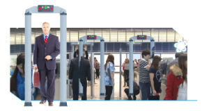 VW-6000 Cylindar Walk Through Metal Detector Security Gate pictures & photos