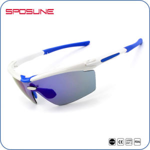 Guangzhou Factory Anti-Skid Cycling Sunglasses, UV400 Sun Glasses Ce, Dropshiping Bicycle Eye Glasses pictures & photos