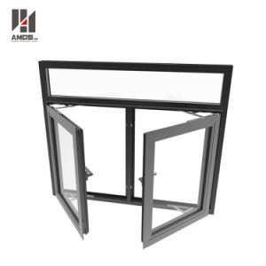 Guangzhou New Window Profile Designs Aluminum Doors and Windows pictures & photos