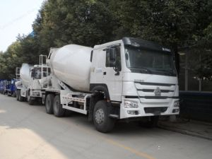 Hot Recommend China Sinotruk HOWO 8X4 Concrete Mixer Truck pictures & photos