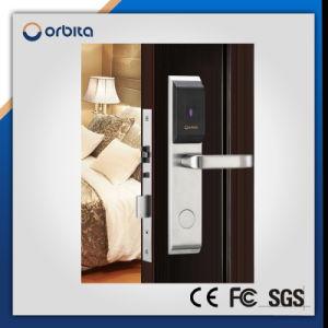 Silver Keyless Smart RFID Door Hotel Lock pictures & photos