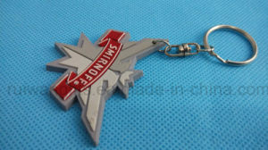 Custom Promotional PVC Keychain with Logo, Promotional Keychain Silicone pictures & photos