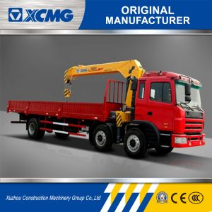 XCMG Sq8sk3q 8ton Straight Arm Truck Mounted Crane pictures & photos