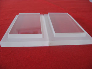 Customized Clear Quartz Glass Plate with Steps pictures & photos