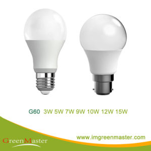 G60 5W Plastic Aluminum LED Bulb pictures & photos