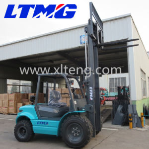 Chinese New Brand 3.5 Ton Rough Terrain Forklift pictures & photos