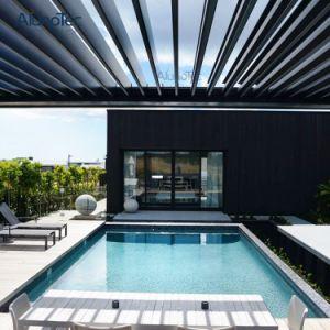 Garden Solutions Custom Made Waterproof Motorized Aluminum Opening Roof Pergola pictures & photos