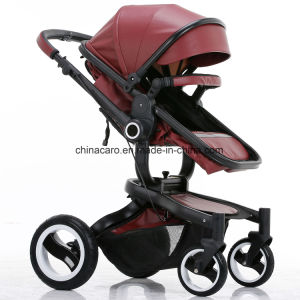 2017 New Design Luxury Fold Baby Stroller with European Standard pictures & photos