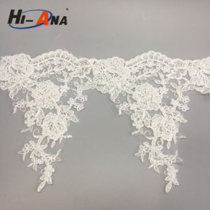Stict QC 100% Finest Quality Embroidery Lace Fabric pictures & photos
