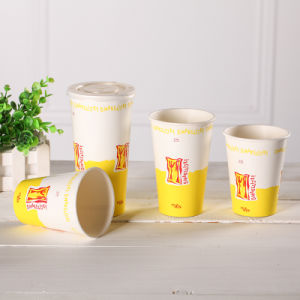 12 Oz Best-Selling Biodegradable Double PE Milkshake Cup/Paper Cup-Yhc-105 pictures & photos
