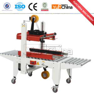 Good Quality Automatic Adhesive Tape Side Drive Box Sealer Price pictures & photos