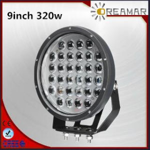 320W 9inch High Power LED Car Driving Light, IP67, 6000K, Rhos Certification pictures & photos