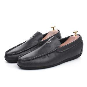 Light Comfortable Men′s Casual Shoes Men′s Shoes Super Fiber Breathable Driving Shoes Rubble Sole pictures & photos