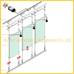 Glass Rod Display System pictures & photos