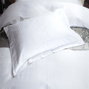 Hotel Deluxe Price Satin White Bedlinen pictures & photos