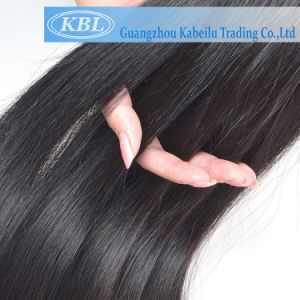 New Jet Black Pure Black Human Hair pictures & photos