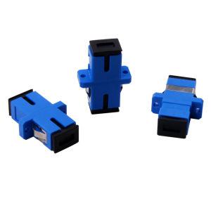 SC/SC Simplex Fiber Optic Adaptor (fiber coupler) pictures & photos