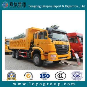 Sinotruk Hohan J7b 340HP 6X4 10-Wheeler Dumper Truck pictures & photos