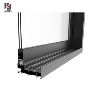 Hot Sale Soundproof Double Glazed Aluminum Sliding Window pictures & photos