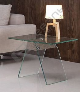12mm Thick Glass Top Tea Table Furniture pictures & photos