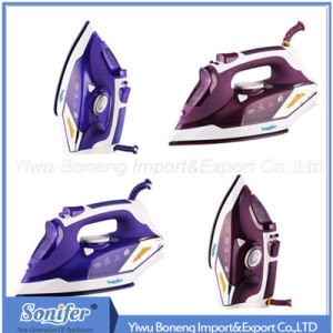 Travelling Steam Iron Sf-9002 Electric Iron with Ceramic Soleplate (Purple) pictures & photos