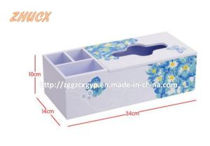 Decoration Box Wooden Tissue Box Wood Box Painted Beautiful Box pictures & photos