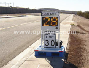 LED School Zone Sign Digital Flashing Speed Limit Signs pictures & photos
