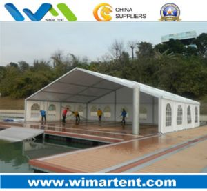 15X10m Aluminum Structure Tent with Wood Floor for Party Wedding pictures & photos