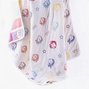 6 Layers Muslin Mushroom Blanket Baby Towel pictures & photos