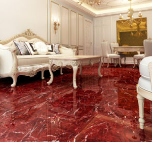 Glazed/ Full Polished Porcelain Floor Tile Copy Marble Tile pictures & photos