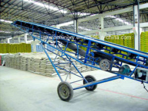 2016 Large Conveying Capacity Portable Belt Conveyor with Abrasive Resistance pictures & photos