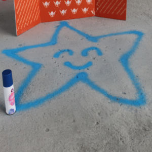 I-Like Brand Chlk Spray Paint for Kids Playing pictures & photos