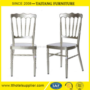Durable Hotel Wedding Use Metal Napoleon Chair pictures & photos