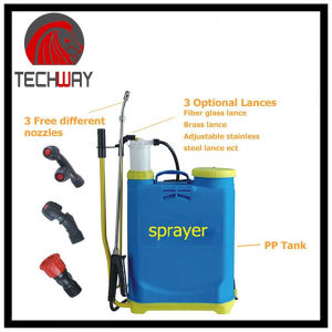 Agricultural Knapsack Hand Pressure Sprayer 16L Plastic Tank Farmguard Sprayer pictures & photos