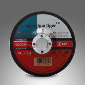 Grinding Wheel for Steel Iron 100*6*16