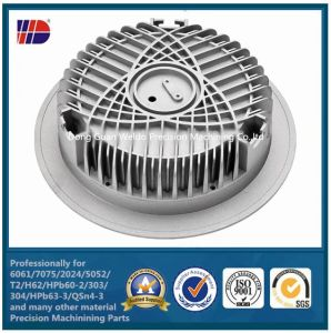 CNC Machining Product Aluminum Die Casting Heat Sink (electric parts) pictures & photos