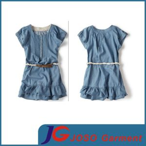 Jeans Size Kids Fashion Jeans Skirt Childrens Clothing (JT5109) pictures & photos