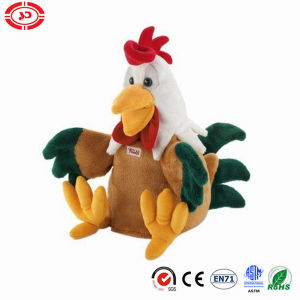 Plush Rooster Chicken Huggable Soft Stufed Kids Toy pictures & photos