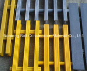 FRP/GRP Pultruded Gratings, T-1210, 25*38*43.4*5.4mm, Fiberglass Pultruded Grating. pictures & photos