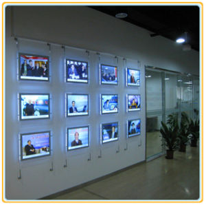 Single Faced Hanging LED Light Panel with A4 Picture pictures & photos