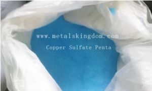 Feed Grade Copper Sulphate (sulfate) Monohydrate 95.0 Min Manufacturer Factury pictures & photos