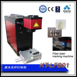 CE RoHS FDA Approved Fiber Laser Marking Coding Machine for Metal pictures & photos