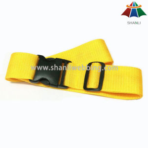 Wholesale Custom Made Luggage Straps with Plastic Buckle pictures & photos