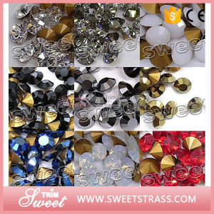 Full Size and Various Color Glass Beads Chaton for Wedding Dress pictures & photos