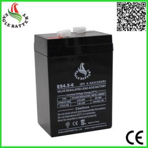 6V 4.5ah VRLA Rechargeable Sealed Lead-Acid Battery