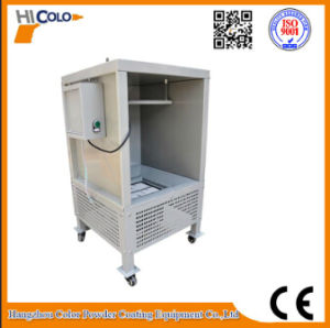 Electrostatic Powder Coating Lab Mini Spray Booth Cabina Con Reciclo pictures & photos